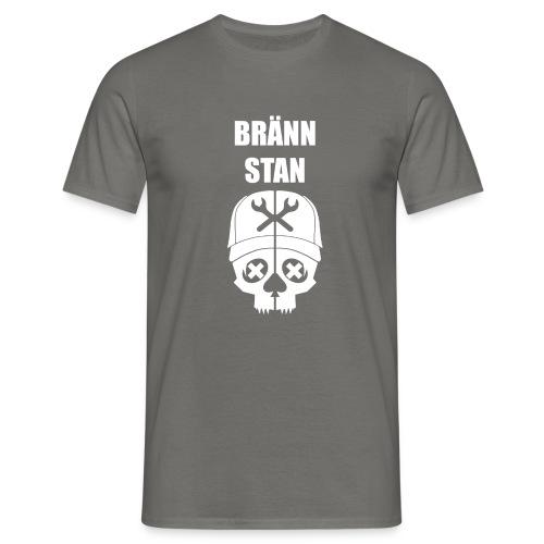 Bränn stan - T-shirt herr