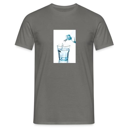 Glas-water-jpg - Mannen T-shirt