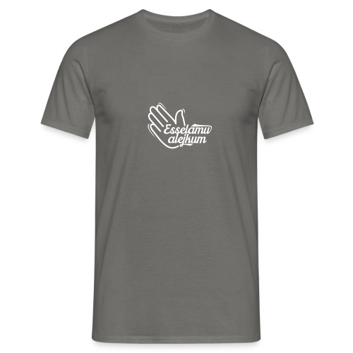 Es-selamu alejkum Motiv 004 - Männer T-Shirt