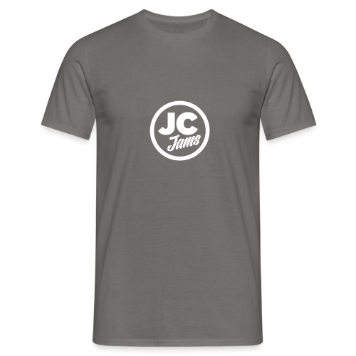 JC Jams logo USR - Men's T-Shirt
