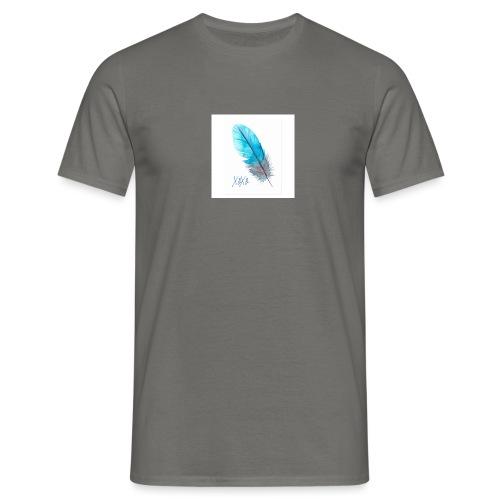 Feder - Männer T-Shirt