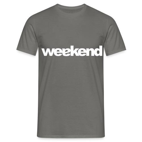 weakend - Männer T-Shirt