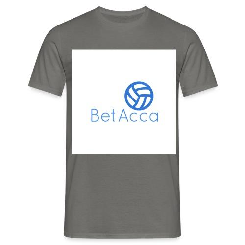 BetAcca Logo - Men's T-Shirt
