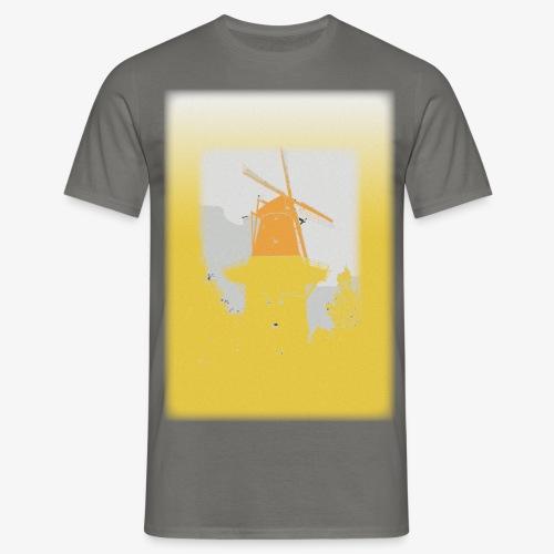Mills yellow - Maglietta da uomo