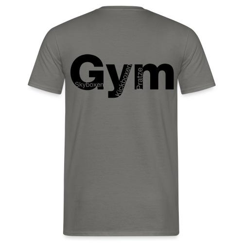 Gym Black - Männer T-Shirt