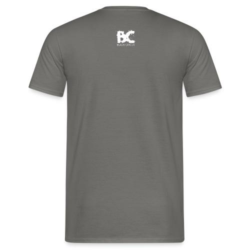 Black Circus Logo white png - Männer T-Shirt