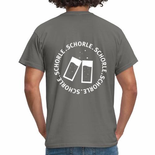 Schorle weiss - Männer T-Shirt
