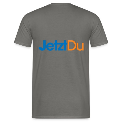 JetztDuLogo ArtWork2 - Männer T-Shirt
