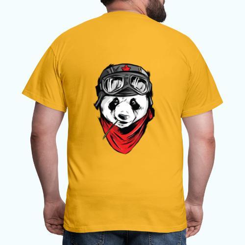 Panda pilot - Men's T-Shirt