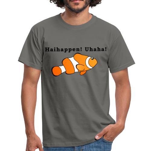 Haihappen! Uhaha - Findet Nemo Mutprobe - Männer T-Shirt