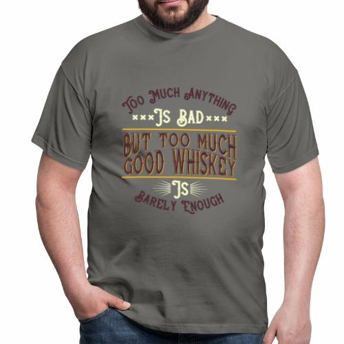 Whiskey food - T-shirt Homme