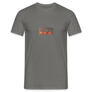 Cap logo Orange - Men's T-Shirt