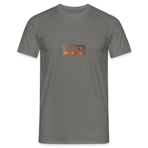 Cap logo Orange - Men's T-Shirt