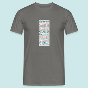 Myopia Poster - T-shirt Homme