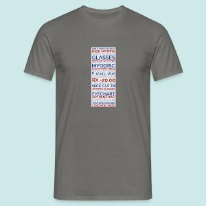 Myopia Poster 3 - T-shirt Homme
