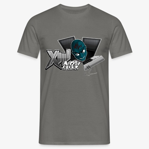 XIIINRVDU6TM OFFICIEL FACE 2 RAVEWEAR - T-shirt Homme
