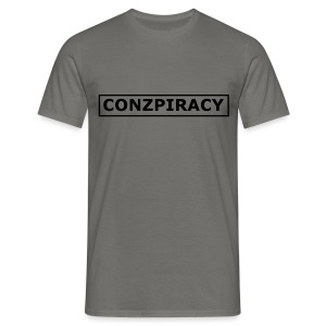 CONZPIRACY wording - Men's T-Shirt