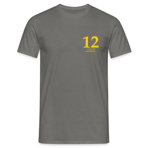 12gelb - Männer T-Shirt