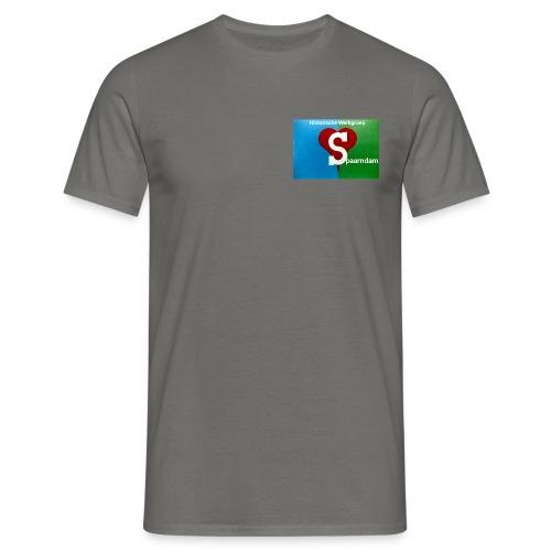 His werk logo 1 - Mannen T-shirt