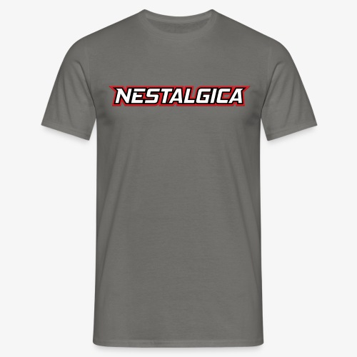 Nestalgica Logo - Men's T-Shirt