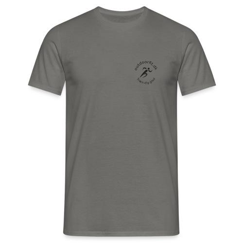 Outdoorfit er vigtigt - Herre-T-shirt