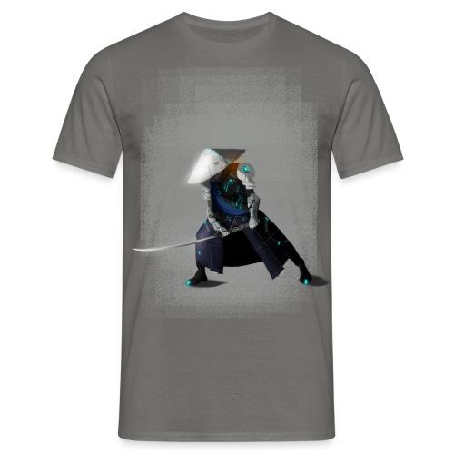 Futuristico Samurai - Maglietta da uomo