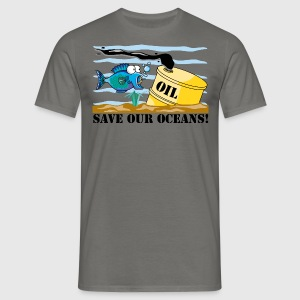 Earth Day Save Our Oceans - T-shirt Homme