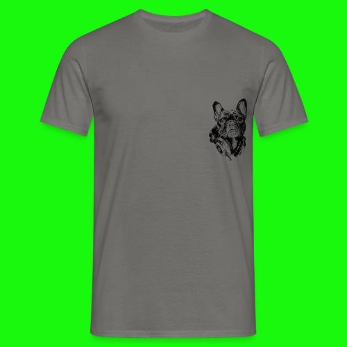 Small_Dog-_-_Bryst_- - Herre-T-shirt