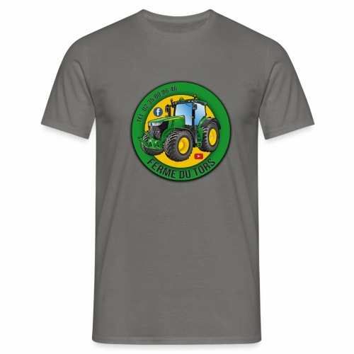Logo de la Ferme - T-shirt Homme