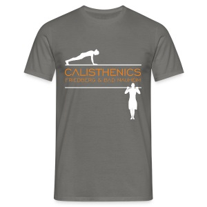 Calis Logo HiRes test - Männer T-Shirt