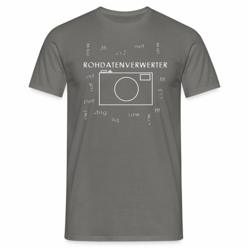 Rohdatenverwerter - Männer T-Shirt