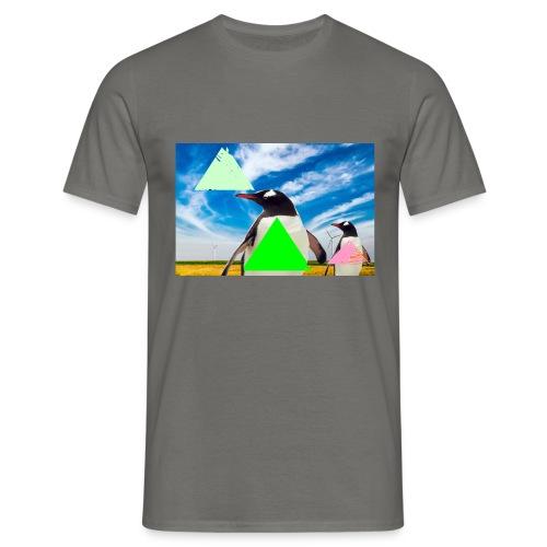 ultra_mega_h--ftig_pingvin_med_yolo_man_swag - T-shirt herr