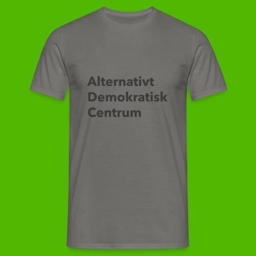 Gråt Navn - Herre-T-shirt