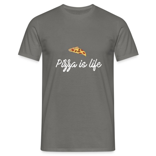 Pizza is life - T-shirt Homme
