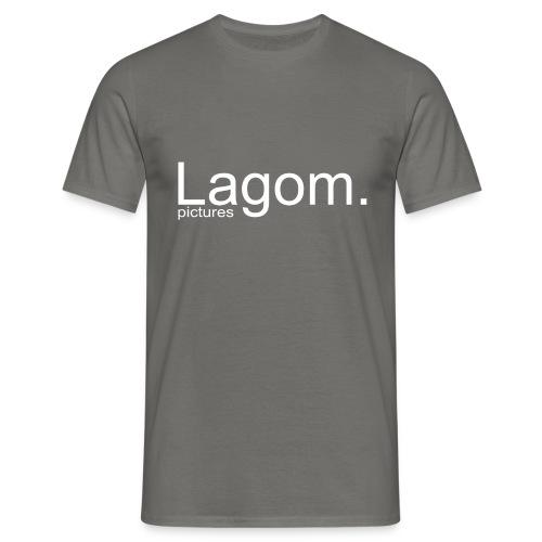 Lagom Pictures Logo Light - Men's T-Shirt