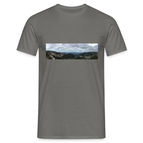 Alpenaussicht - Männer T-Shirt