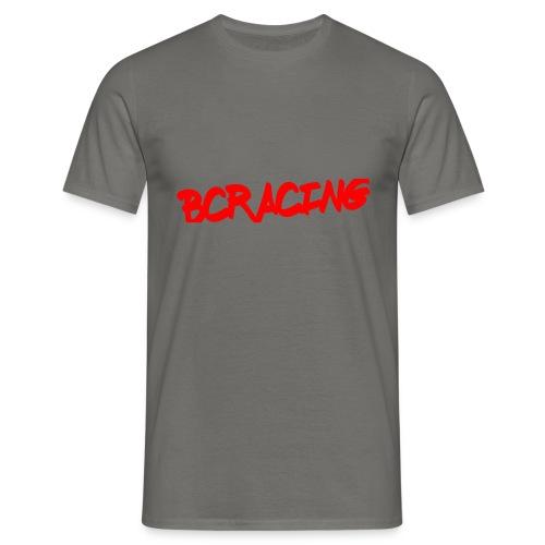 bcracing font red - Men's T-Shirt