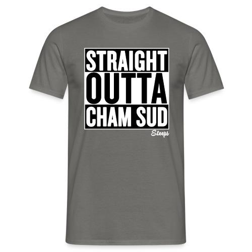 STRAIGHT OUTTA CHAM SUD - T-shirt herr