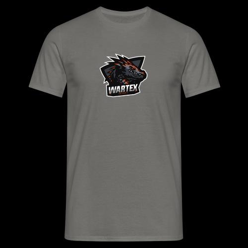 Wartex Logo Weiss - Männer T-Shirt