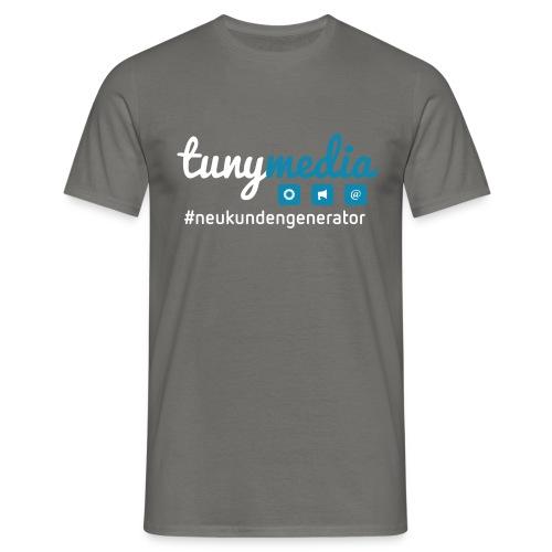 Tunymedia Brand - Männer T-Shirt