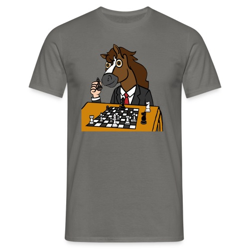 Chess Champ Horse - Men's T-Shirt