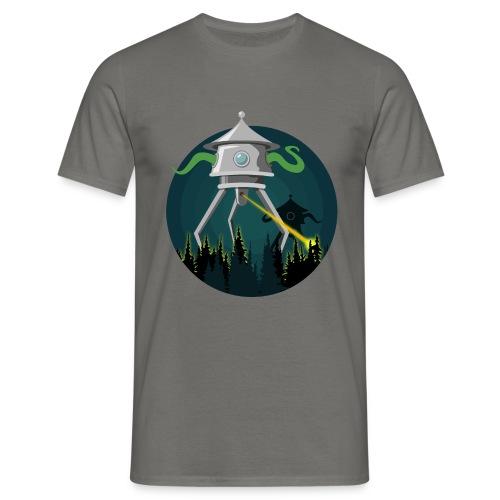 La guerra dei mondi - H. G. Wells - Maglietta da uomo
