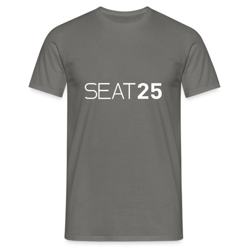 Seat25 Logo Light - Men's T-Shirt