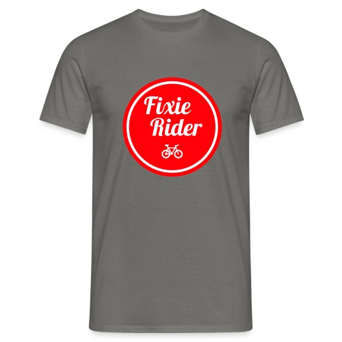 Fixie Rider - T-shirt Homme