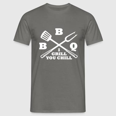 BBQ - Maglietta da uomo