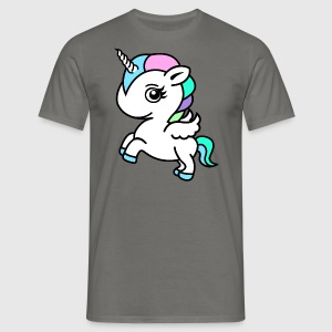 Colourful Unicorn - T-shirt Homme