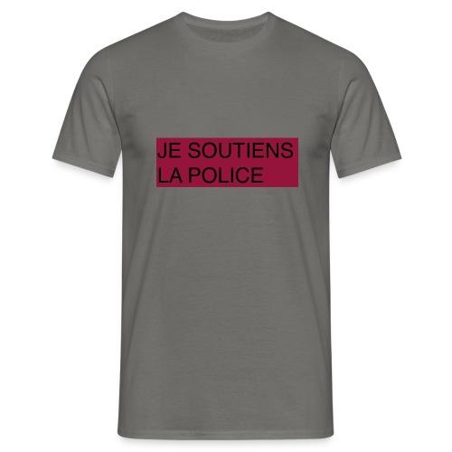 SOUTIENS POLICE - T-shirt Homme