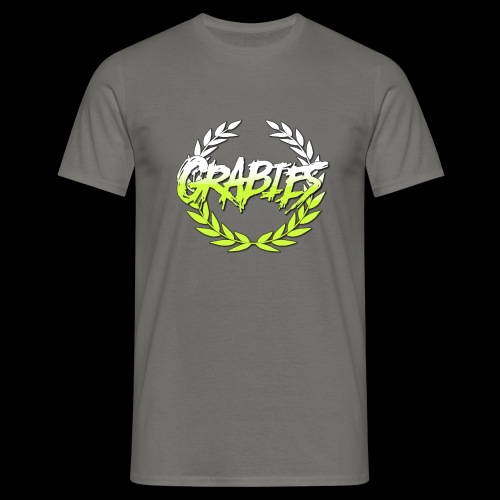 grabies Green/white fade - Herre-T-shirt