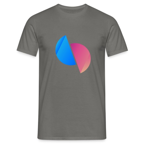 Ediplace logo färg - T-shirt herr