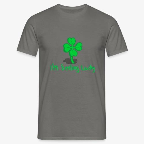 Lucky Four Leaf Clover - Men's T-Shirt